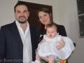 Marta con mamma e papà
