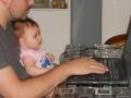 Marta al computer