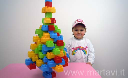 costruire un albero di natale