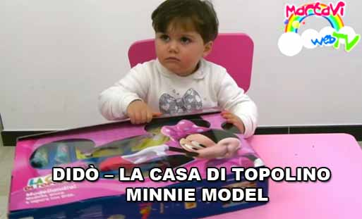 la casa di topolino minnie model