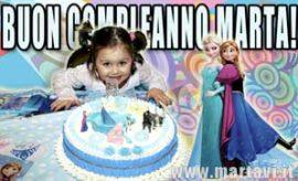 Buon compleanno Marta!!! 4 anni…
