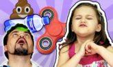 IL VIDEO PIU' BRUTTO DI SEMPRE - fidget spinner, flip bottle, winnie the pooh, poesia e barzellette