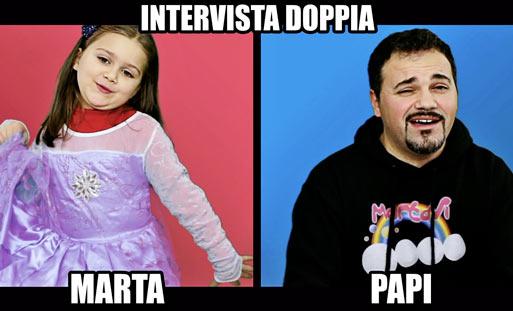 Martavi intervista doppia domande rubate ai me contro for Intervista domande