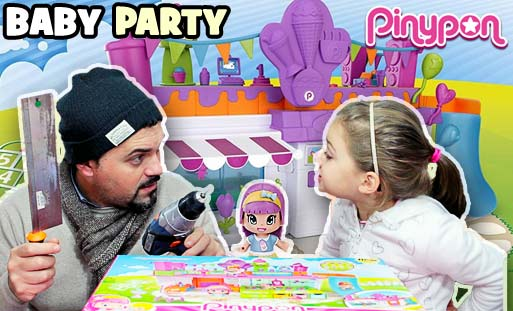 pinypon baby party compleanno