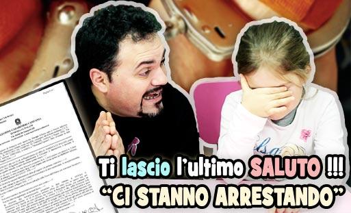 denunciato arrestare saluto