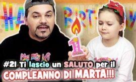 Ti lascio un SALUTO!!! #21 SPECIALE COMPLEANNO DI MARTA (con scherzo)