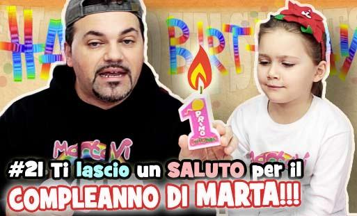 Compleanno Marta