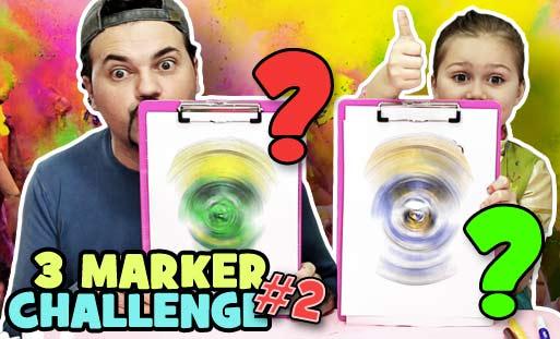Martavi 3 Marker Challenge Frozen Lol Luì E Sofì Me Contro Te