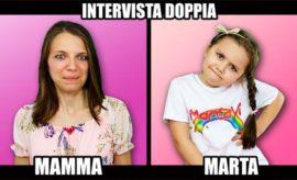 Intervista doppia domande con mamma