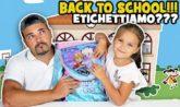 backtoschool etichette ritorno a scuola