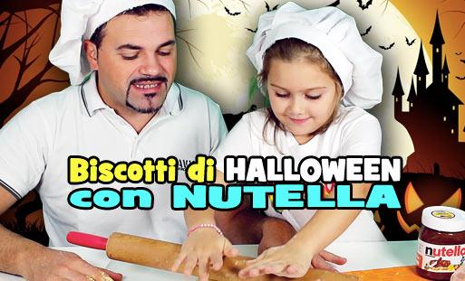 Biscotti Halloween Nutella Speciali MartaVI
