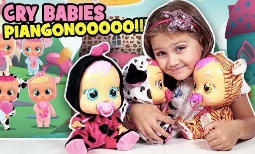 cry babies le bambole che piangono lacrime vere