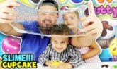 slime cupcake super sweety