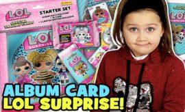 lol surprise card album