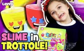 slime in trottole mollosy spinner putty