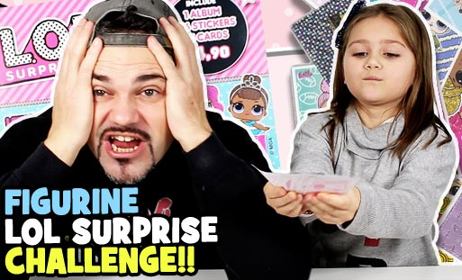 lol surprise figurine challenge