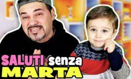 Ti lascio UN SALUTO SENZA MARTA ma con MATTEO!!!