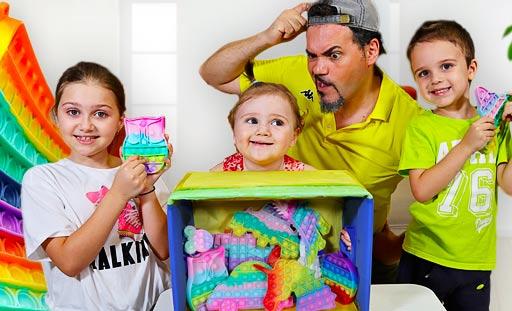 pop it  scatola challenge